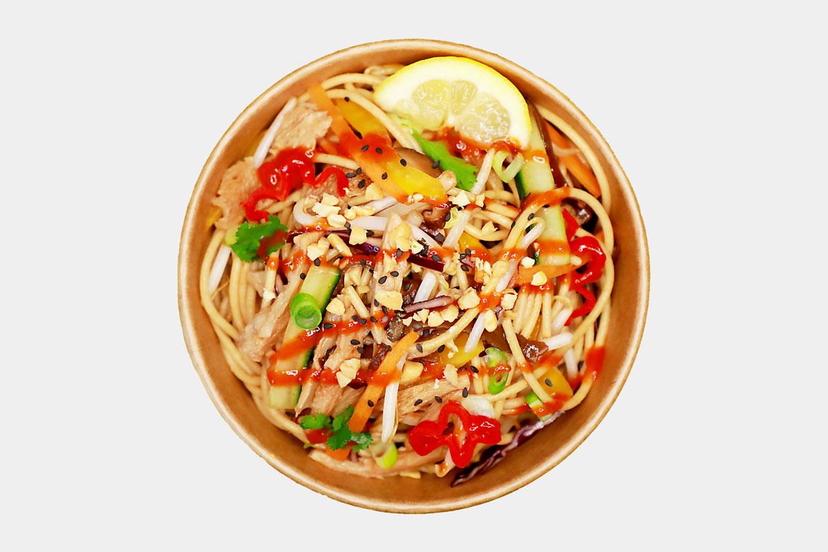 Thai Style Stir-fried Noodles