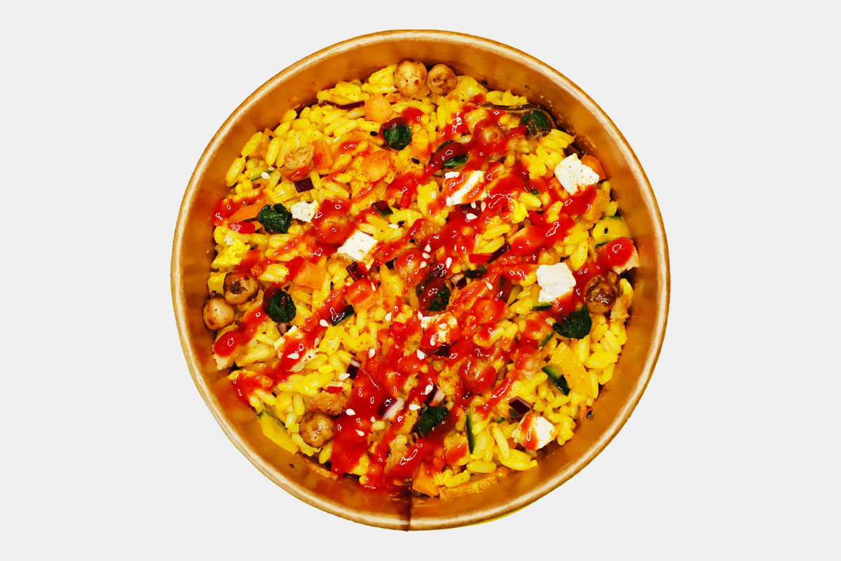 Chinese Style Stir-fried Rice